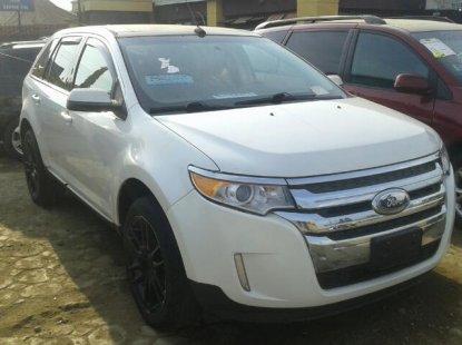 Tokunbo Ford Edge 2012 Model White for Sale