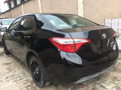 Foreign Used Toyota Corolla 2016 Model Black for Sale