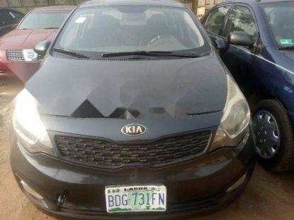 Manual Nigerian Used 2013 Dark Grey Kia Rio for sale in Lagos