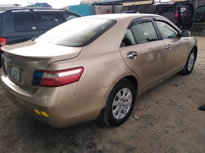 Nigeria Used Toyota Camry 2008 Model Gold for Sale