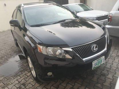 Nigeria Used Lexus RX 350 2011 Model Black