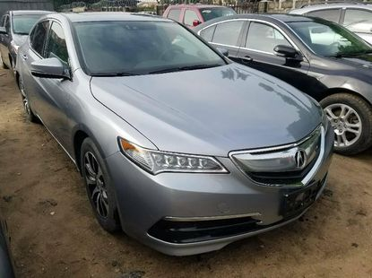 Foreign Used 2015 Grey Acura TSX for sale in Lagos