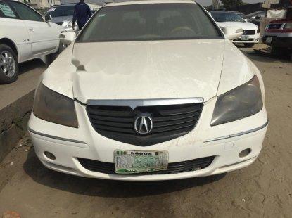 Nigeria Used Acura RL 2005 Model White