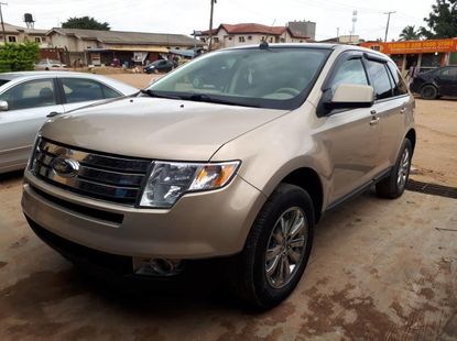 Foreign Used Ford Edge 2008 Model Gold