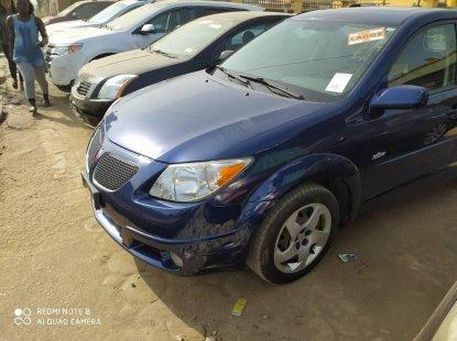 Foreign Used Pontiac Vibe 2004 Model Blue
