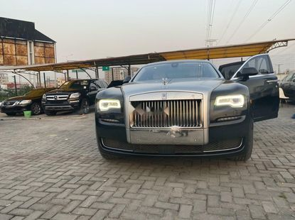 Tokunbo Rolls-Royce Ghost 2015 Model Black