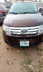 Nigeria Used Ford Edge 2010 Model Brown