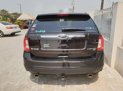 Foreign Used Ford Edge 2014 Model Brown