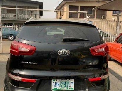 Nigeria Used Kia Sportage 2014 Model Black