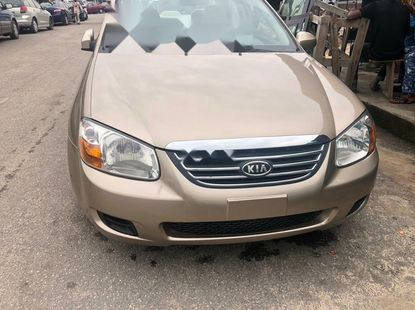 Foreign Used Kia Spectra 2008 Model Gold