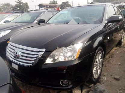 Foreign Used Toyota Avalon 2008 Model Black