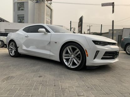 Direct Tokunbo Chevrolet Camaro 2017 Model Petrol Automatic White