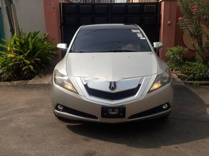 Foreign Used Acura ZDX 2011 Model Silver