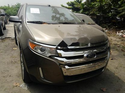 Foreign Used Ford Edge 2014 Model Gold