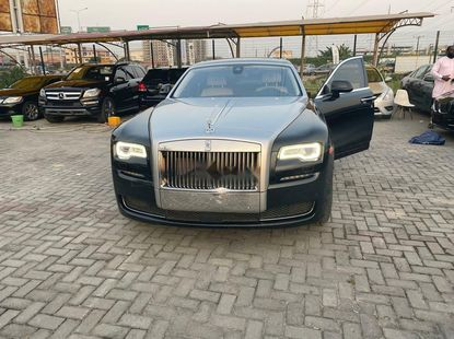 Foreign Used Rolls-Royce Ghost 2016 Model Black