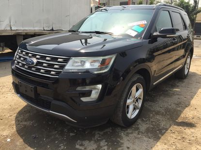 Tokunbo 2017 Black Ford Explorer for sale in Lagos