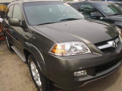 Tokunbo Acura MDX 2005 Petrol Automatic Green Colour