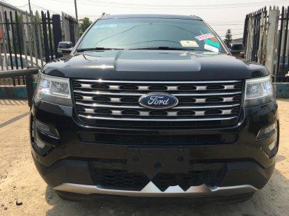Foreign Used Ford Explorer 2017 Model Black