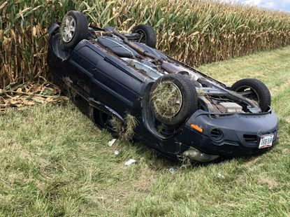 How it happens and how to avoid car roll-over accident