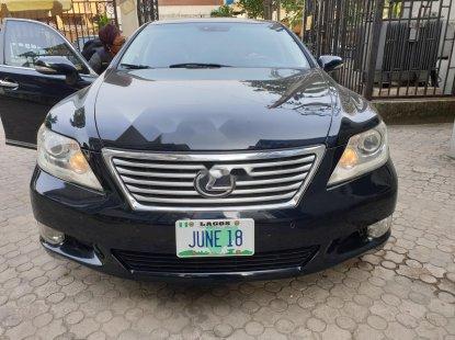 Nigeria Used Lexus LS 2010 Model Black