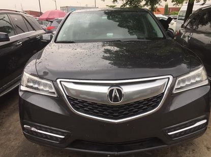 Foreign Used Acura MDX 2015 Model Gray
