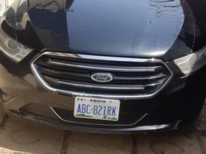 Nigeria Used Ford Taurus 2013 Model Black
