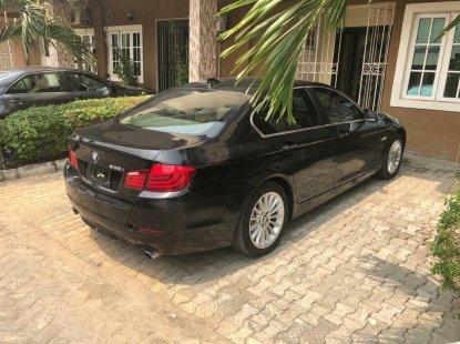 Foreign Used BMW 535i 2012 Model Black