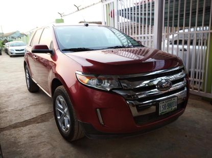 Nigeria Used Ford Edge 2014 Moel Red