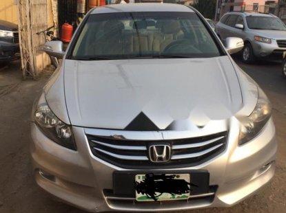 Nigeria Used Honda Accord 2012 Model Silver