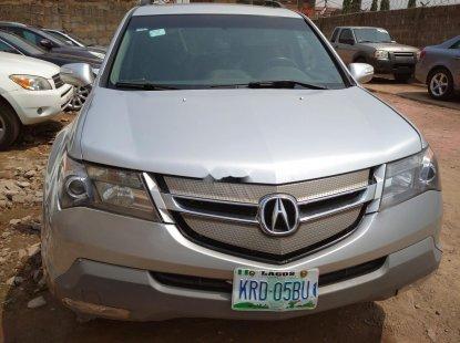 Nigeria Used Acura MDX 2007 Model Silver