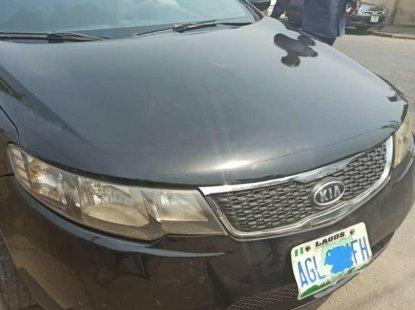 Nigeria Used Kia Cerato 2012 Model Black