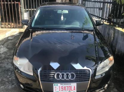Foreign Used Audi A4 2007 Model Black