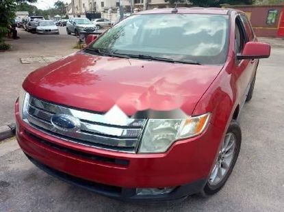 Foreign Used Ford Edge 2009 Model Red