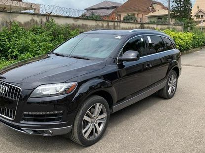 Foreign Used Audi Q7 2013 Model Black