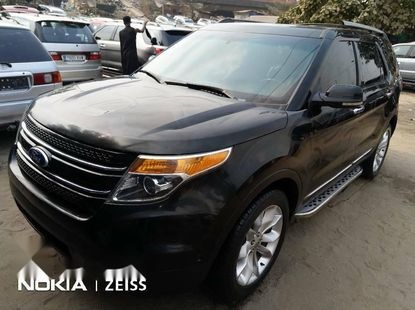 Foreign Used Ford Explorer 2012 Model Gray