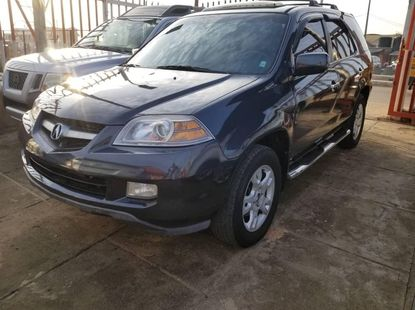 Foreign Used Acura MDX 2005 Model Gray