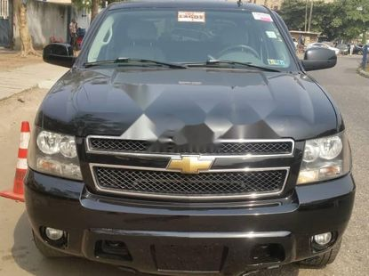 Foreign Used Chevrolet Avalanche 2007 Model Black