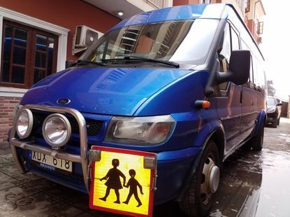 Foreign Used Ford Transit 2006 Model Black
