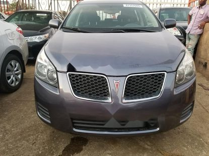 Foreign Used Pontiac Vibe 2010 Model Gray