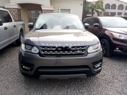 Foreign Used Land Rover Range Rover Sport 2015 Model Gray