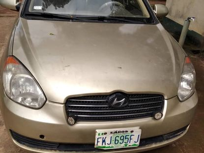 Clean and Sound Nigerian Used Manual 2008 Hyundai Accent