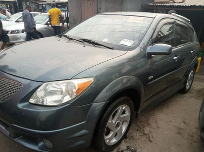 Foreign Used Pontiac Vibe 2006 Model Green