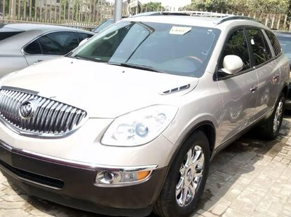 Foreign Used Buick Enclave 2008 Model Beige