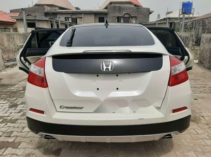 Nigeria Used Honda Accord CrossTour 2014 Model White