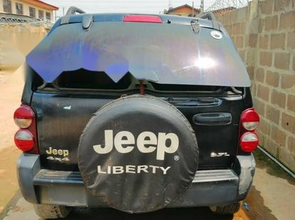Nigeria Used Jeep Liberty 2005 Model Green