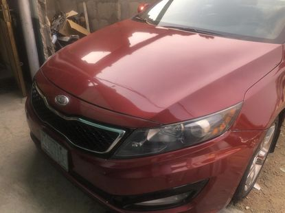 Nigeria Used Kia Optima 2014 Model Red