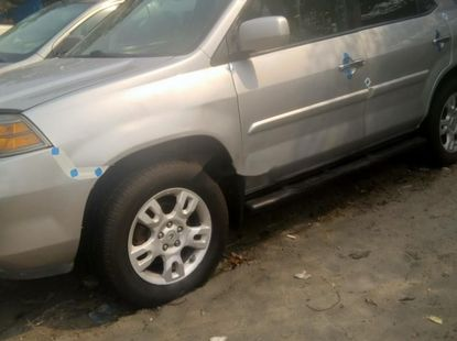 Foreign Used Acura MDX 2006 Model Silver