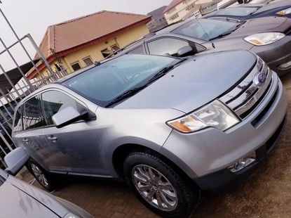 Foreign Used Ford Edge 2007 Model Silver