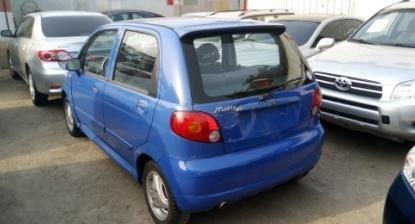 Foreign Used Daewoo Matiz 2004 Model Blue