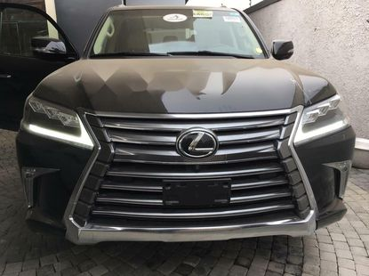 Foreign Used 2017 Black Lexus LX for sale in Lagos.